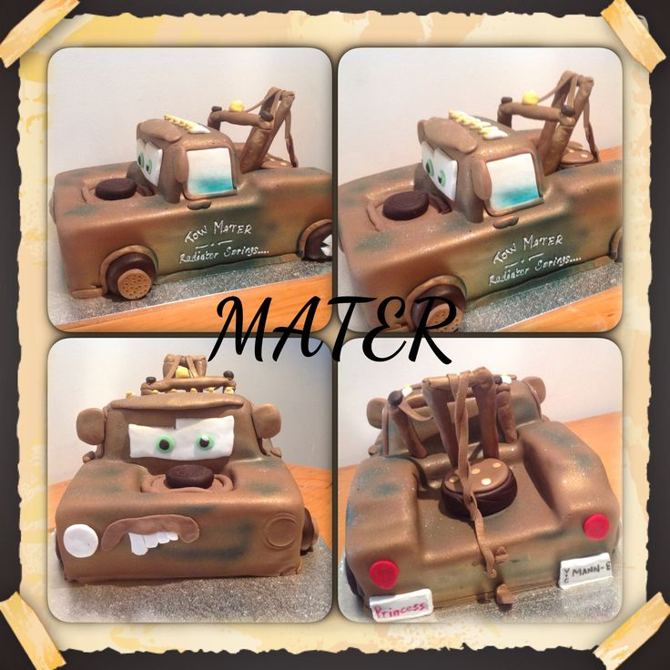 Mater from cars the movie