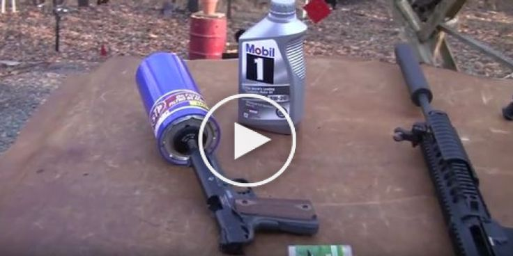In a world of gun accessories, there are different strokes for different folks, even when it comes to the range of suppressors that you have to choose from. In this video, we check out a tricky little device that is used to take your standard oil filter and turn it into a weapon suppressor...