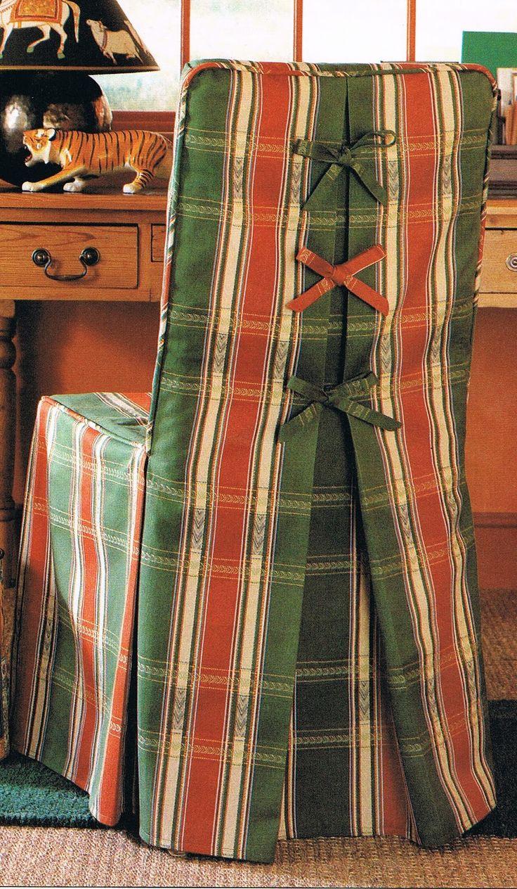 Patrones de Costura: FUNDAS PARA SILLAS -1                                                                                                                                                                                 Más