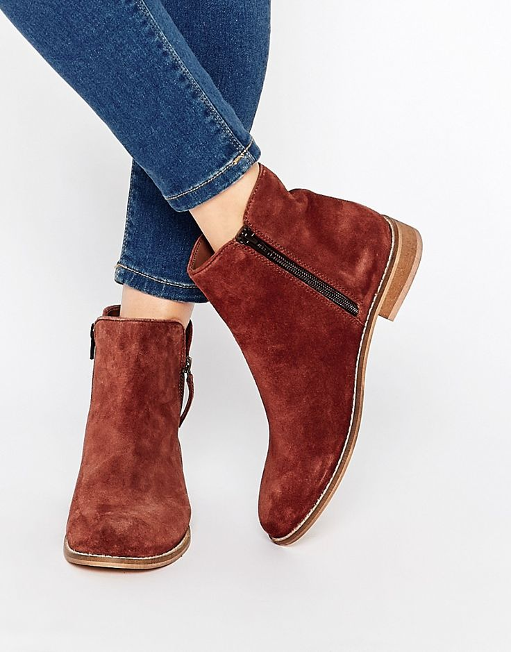 ASOS+AIRWAVE+Suede+Ankle+Boots