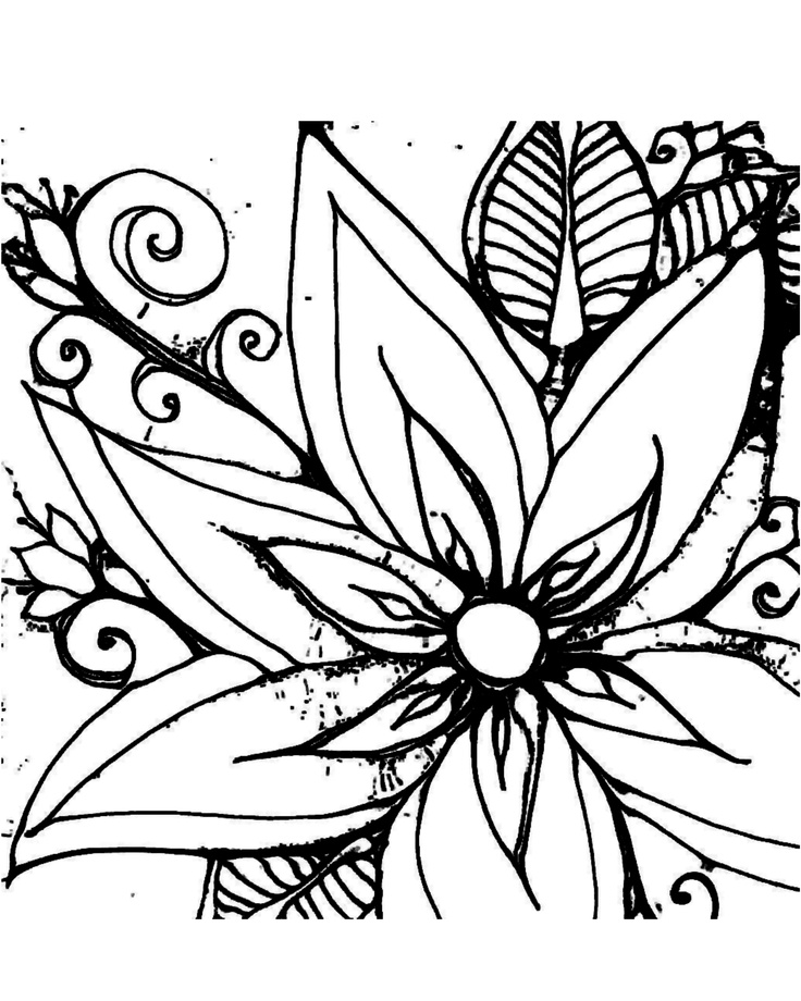 231 best flowers coloring coloring for adults art pages images on rh pinterest com awesome coloring pages for adults awesome coloring pages for adults - Girly Coloring Pages