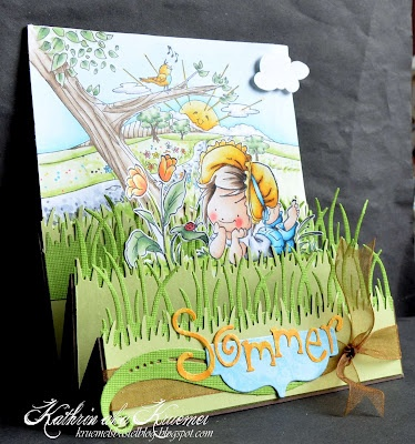 Whiff of Joy - Tutorials & Inspiration: A summer-ish stair step card