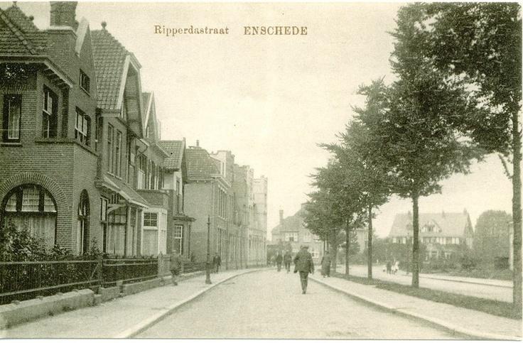 Ripperdastraat ca. 1920