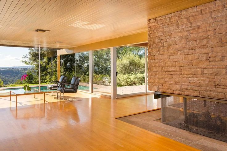 85 best midcentury homes images on pinterest modern for Mid century modern residential architecture