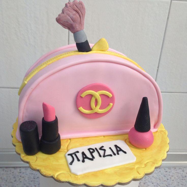 #cosmetic #bag #cake by #sketiglyka