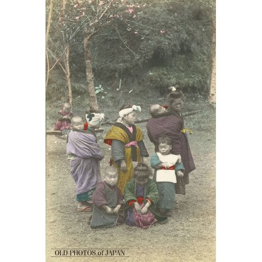 Children Carrying Children - different from Ainu mothers