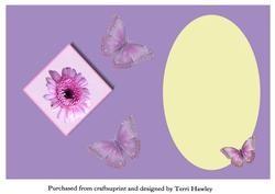 Daisy Insert Purple on Craftsuprint - View Now!