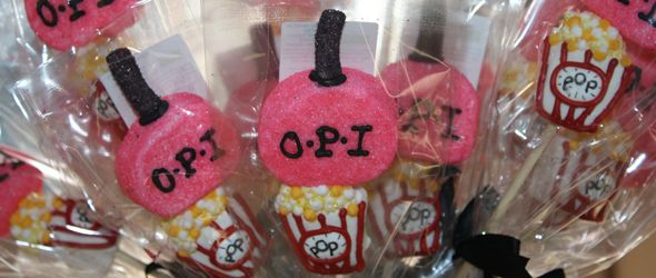 9 year old girl birthday party ideas   Manis and Movies Party was designed for a 14 year old's birthday party ...