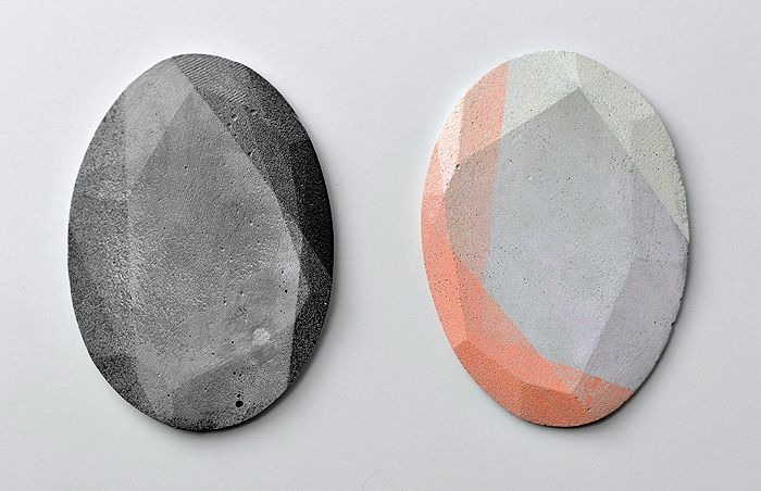 Mareike Kanafani's Brutalist Concrete Jewelry