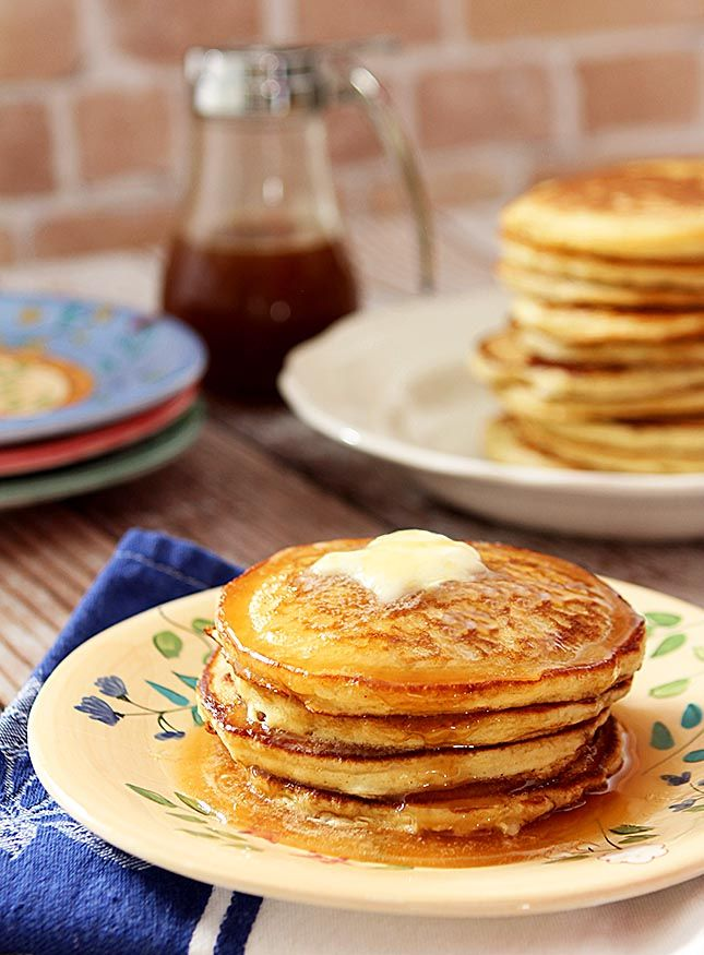 Post image for The Best Buttermilk Pancakes