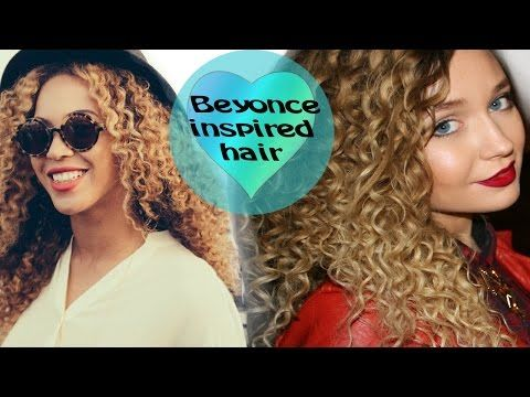 Мелкие кудряшки Бейонсе.Афро кудри.Beyonce hairstyle/curls. - YouTube