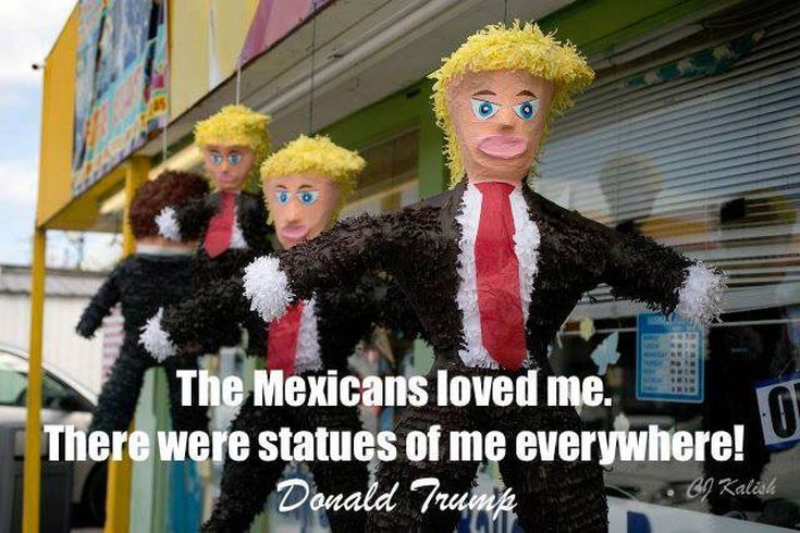 Funniest Political Memes of 2016: Trump Piñatas