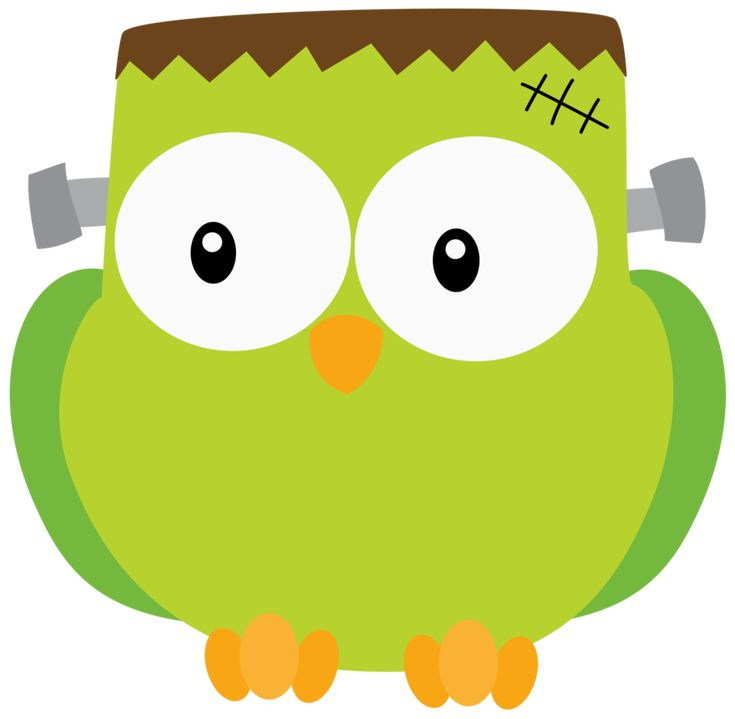 HALLOWEEN FRANKENSTEIN OWL CLIP ART | CLIP ART - HALLOWEEN ...