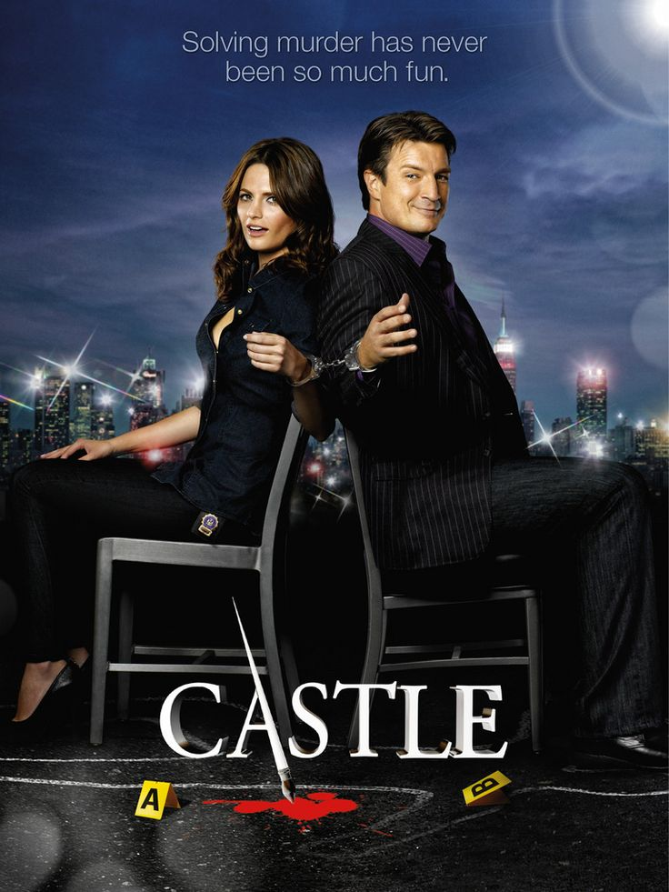 richard castle | Nathan Fillion als Richard Castle und Stana Katić als Kate Beckett