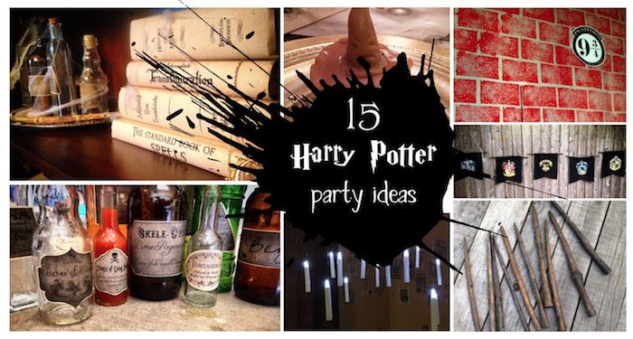 Harry Potter party ideas for easy decor. Throw an amazing Harry Potter birthday…