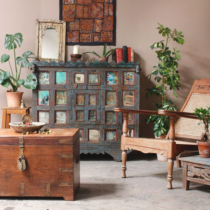 Indian And Colonial Vintage Furniture