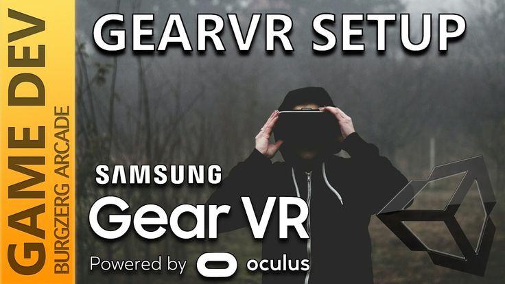 Samsung GearVR Setup in Unity 5.5