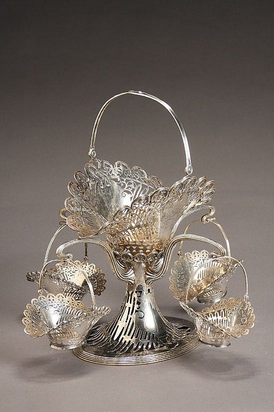 Frank W. Smith Silver Co. Sterling Epergne