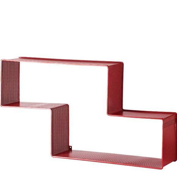 GUBI // Matégot Dedal Bookshelf in red