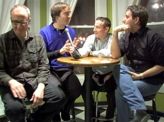 Fav Chi-Town Places-Beat Kitchen (where)  Fav Chi-Town musicians & a world renowned playwright! (who)  We're All Punk Parents:   Interview With Playwright Brett Neveu and Band Members of The Noses and This Magazine Is Haunted. Video by ChiIL Mama.