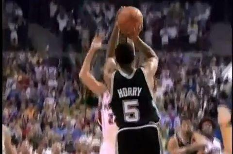 Memorable Mondays: Robert Horry Clutch in Game 5 of 2005 NBA Finals