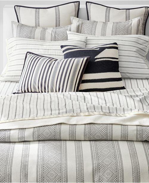 Lauren Ralph Lauren Taylor Cotton 3 Pc Woven Stripe Full