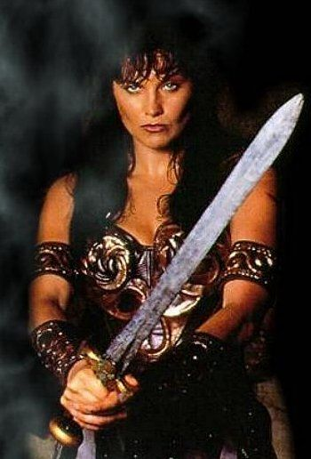 Had to giggle when I saw this. Sometimes feels like I could definitely utilize this.   Xena Warrior Princess