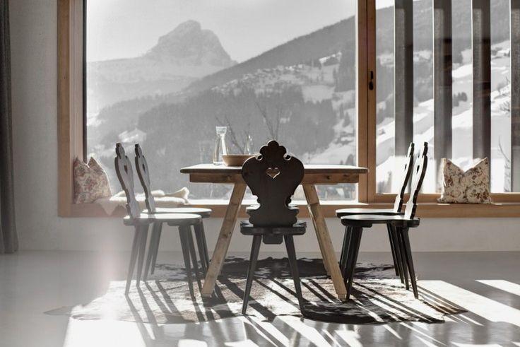Die Baumaterialien wurden auf ein Minimum beschränkt    Pedevilla Architects ©Gustav Willeit, Corvara