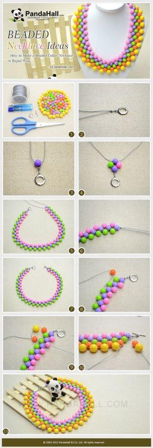 Ideas que collar de perlas - Cómo hacer un moldeado de ... | Joyería artesanal Tut por querer