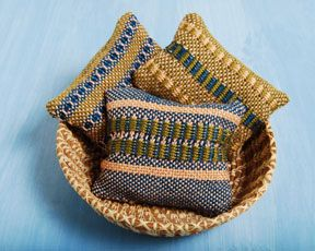 Make some bean bags with your cricket (This would work with 2 squares from the Zoom Loom)