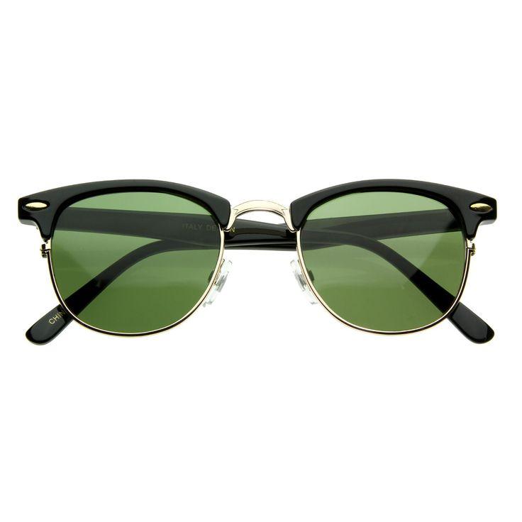 Vintage Half Frame Classic Optical RX Sunglasses 2947