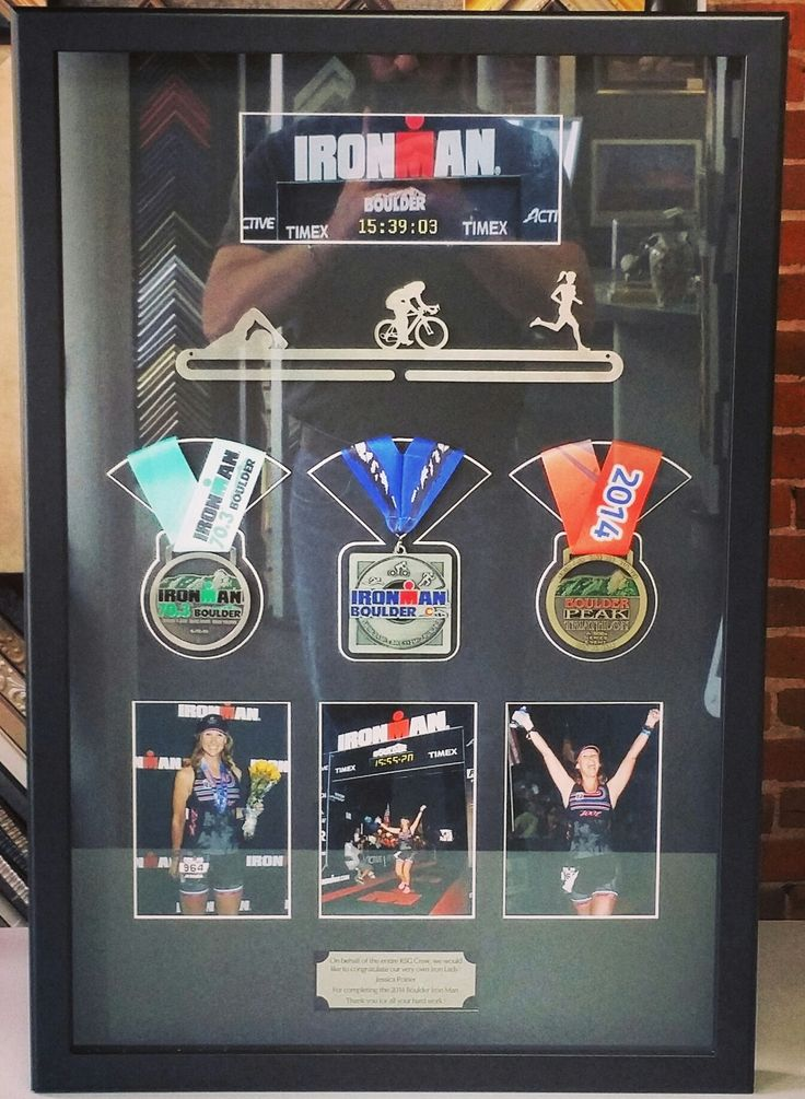 A custom shadowbox is a great way to display your accomplishments! Custom framed by FastFrame of LoDo.