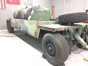 2003 M989A1 HEMAT Military Trailer - item condition used m989a1 hemat trailer includes 2ea 600gal aluminum fuel tanks that may not have ever been used can be separated excellent c