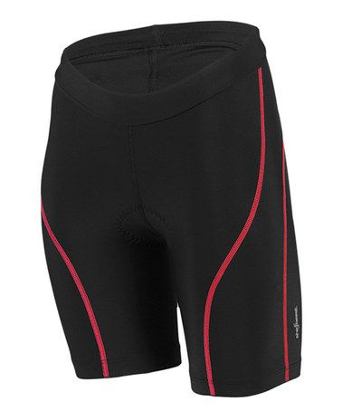 This Black & Hot Tomato Solid Racegear Tri Shorts - Women & Plus by She Beest is perfect! #zulilyfinds