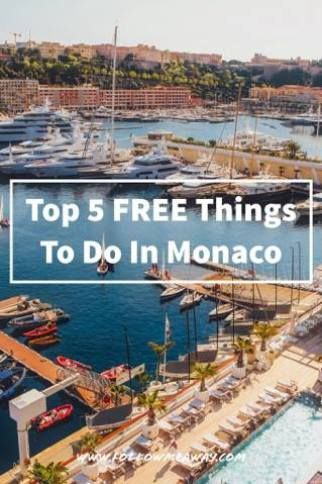 5 Free Things To Do In Monaco   What To do In Monaco When You Are Broke   Monaco Itinerary for one day   Tips for visiting Monte Carlo   Monaco Travel Tips and itinerary   Best things to do in Monaco   How to visit Monaco on a budget