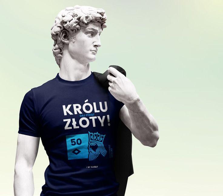 Królu Złoty, daj pisiąt złoty! ;) Dla wszystkich kolekcjonerów PLNów - nowa seria królewskich koszulek już wkrótce w sprzedaży (55PLN za sztukę / link w BIO). Chcecie więcej? Lajkujcie ;) Komentujcie!  .  .  .  #clothes #streetwear #tshirt #fashion #koszulki #koszulkowo #funny #humor #szafa #krol #krolowie #king #kings #polska #pieniadze #banknoty #pln #kasa #flota #money #poczet #wladcy #mieszko #chrobry #jagiello #sobieski #dycha #stowka #drobne