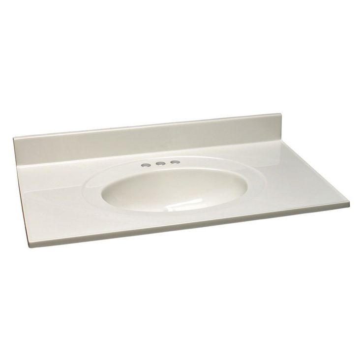 Design House Cultured Marble Vanity Top - 552331