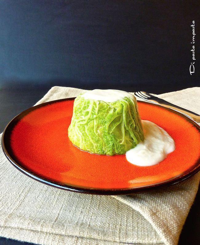 Di pasta impasta: Sformatini di verza vegetariani