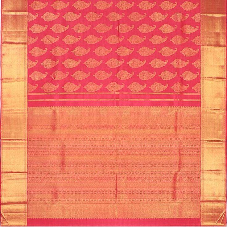 Kanakavalli Kanjivaram Silk Sari 060-01-27845 - Full View