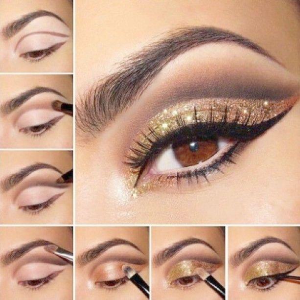 Makeup Organizer Runde, wann immer Smokey Eye Makeup Demo gegen Makeup Geek Cupcak …   – Smokey Eye Makeup Step By Step