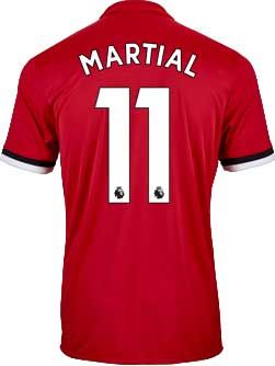0b1cb696a adidas Anthony Martial Manchester United Home Jersey 2017-18 ...