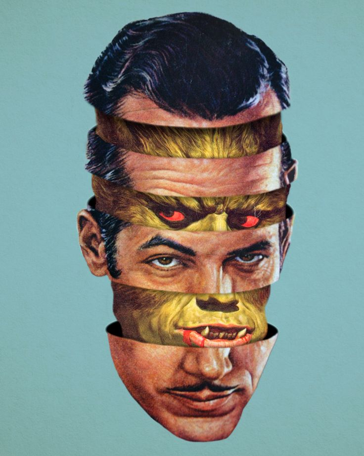 80s inspired digital collages by artist Matt Cunningham aka Moon Patrol