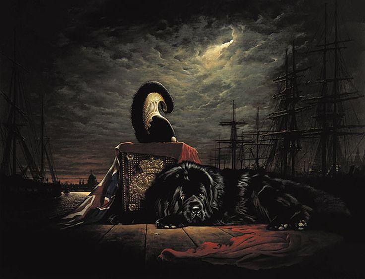 boatswain dog. after byron lost his beloved newfoundland boatswain, the poet called dog \u0027firmest boatswain