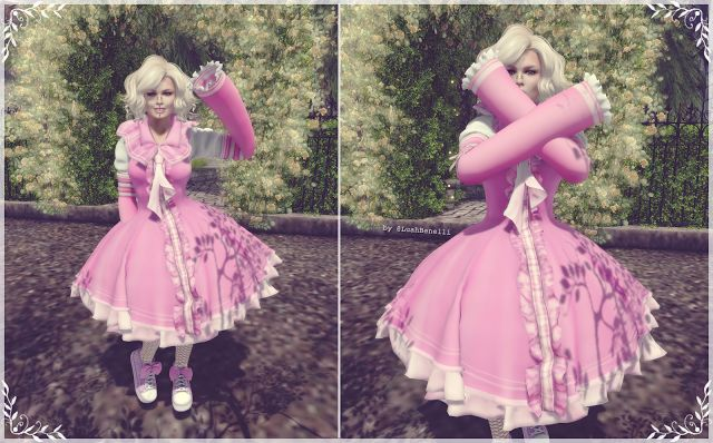 Fashion in SL by Luah Benelli: NS for The LIMIT8