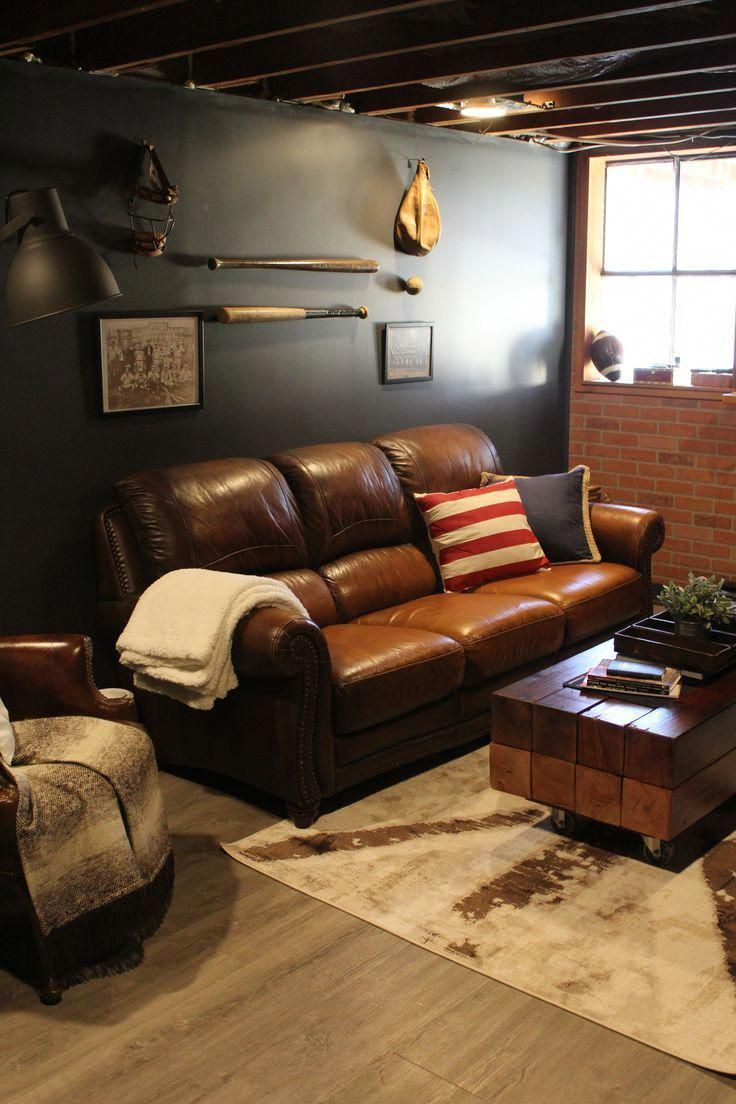small basement man cave ideas smallbasementideas in 2020 on incredible man cave basement decorating ideas id=99711