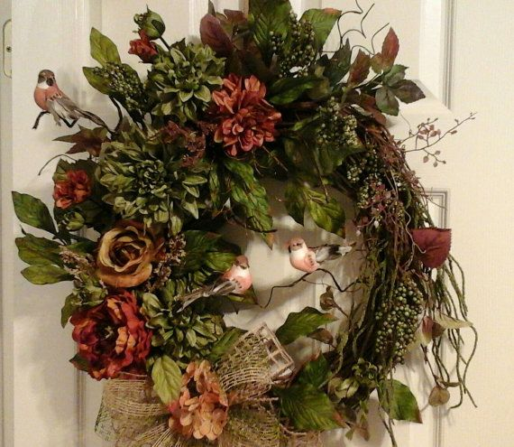 Tuscan Wreath Winterspring Wreath Elegant By