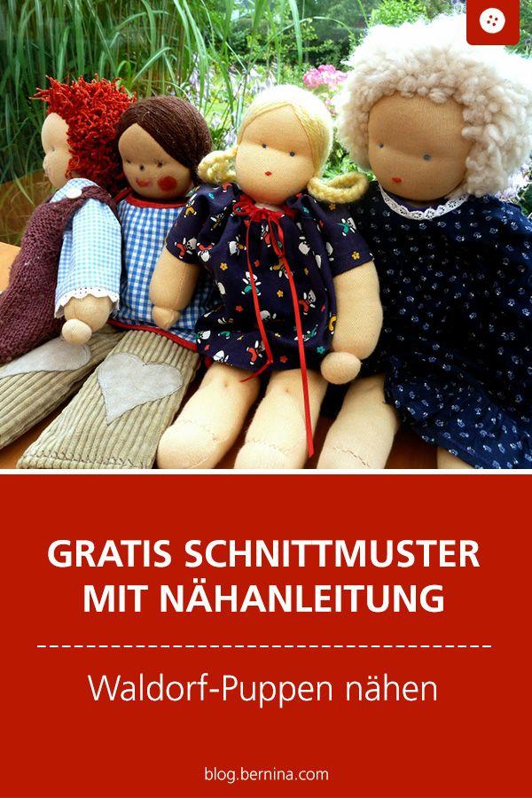 Puppen nach Waldorfart nähen – Anleitung, Teil 4