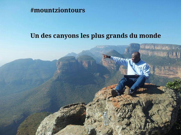 Mpumalanga, la Route des cascades,  Blyde River with #mountziontours
