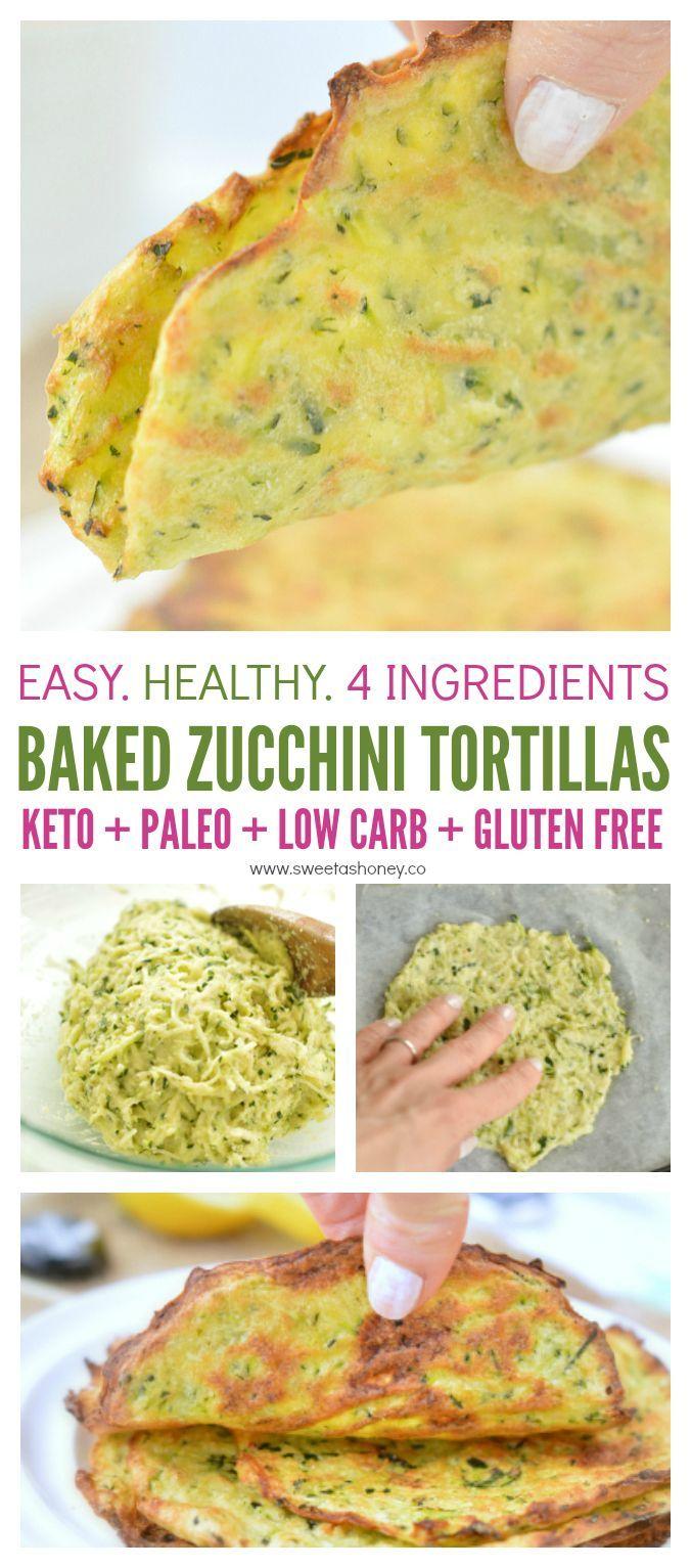 Keto Zucchini Tortillas, Low Carb Keto-friendly coconut flour recipe, easy to heal