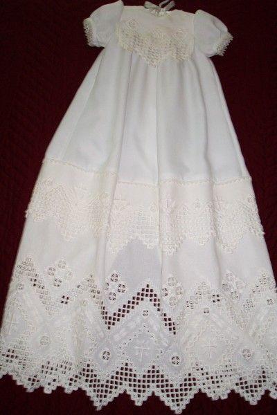 Hardanger Christening Gown